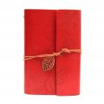 купить Блокнот с эко-кожи Nature красный цена, отзывы