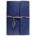 купить Блокнот с эко-кожи Nature синий цена, отзывы