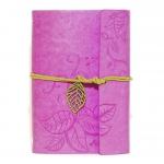 купить Блокнот с эко-кожи Nature фиолетовый цена, отзывы