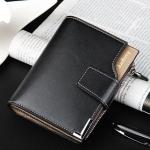 купить Мужской кошелек Baellerry Modern Black цена, отзывы