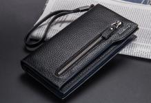 купить Мужской кошелек Baellerry Monaco Black цена, отзывы