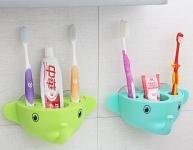 купить Держатель для зубной пасты и щеток Слоник цена, отзывы