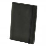 купить Кожаная Обложка на паспорт Black + блокнот цена, отзывы