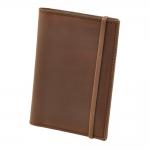 купить Кожаная Обложка на паспорт Oreh + блокнот цена, отзывы