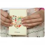купить Обложка для паспорта I Love Ukraine + блокнот цена, отзывы