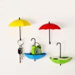 купить Крючок - Ключница универсальная Зонтики для мелочей 3шт/уп цена, отзывы