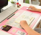 купить Ультра-большой коврик для мыши с карманами,линейкой и органайзером для заметок на полотне цена, отзывы