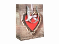 купить Подарочный пакет Сердце 23см цена, отзывы