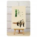 купить Тетрадь Панда мысли о бамбуке 2 mini  цена, отзывы