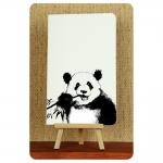 купить Тетрадь Черно Белая Панда и Бамбук mini цена, отзывы