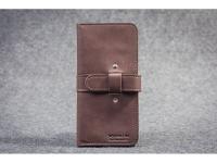 купить Кожаный Кошелек mini Travel Brown цена, отзывы