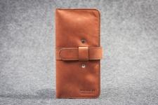 купить Кожаный Кошелек mini Travel Chokolad цена, отзывы
