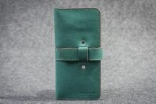 купить Кожаный Кошелек mini Travel Green цена, отзывы