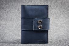 купить Кожаный Кошелек Dual Blue цена, отзывы
