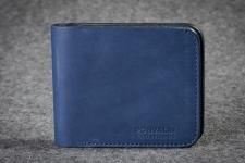 купить Кожаный портмоне Friend Blue цена, отзывы