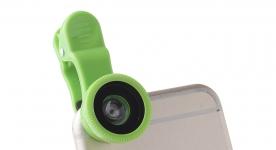 купить Универсальный Макрообъектив Clip-On Fisheye Green цена, отзывы