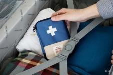 купить Органайзер-аптечка для дома и путешествия синяя цена, отзывы
