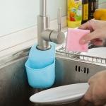 купить Подвесной органайзер для кухонных принадлежностей синий цена, отзывы