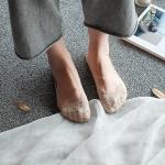 купить Кружевные тапочки-носочки бежевые цена, отзывы