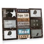 купить Фотоколлаж Enjoy life Brown цена, отзывы