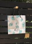 купить Подарочный пакет Пальмовые Листья 22 см цена, отзывы