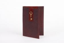 купить Кожаная Обложка на паспорт Золотой Ключик цена, отзывы