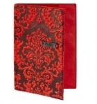 купить Кожаная Обложка на паспорт Винтаж Red цена, отзывы