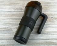 купить Термокружка Starbucks Grip Handle Black 473 мл цена, отзывы