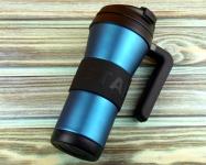 купить Термокружка Starbucks Grip Handle Blue 473 мл цена, отзывы