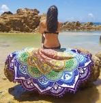 купить Пляжный коврик Mandala purple 140см цена, отзывы