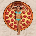 купить Пляжный коврик Пицца (Pizza) 143 см цена, отзывы