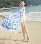 купить Пляжный коврик Mandala blue 150см УЦЕНКА цена, отзывы