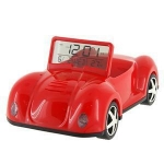 купить Машинка подставка для телефона с часами и термометром цена, отзывы