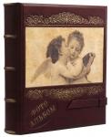 купить Кожаный Фотоальбом на ремне Ангел цена, отзывы