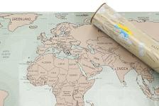 купить Скретч карта мира в подарочном тубусе (Анг. язык) цена, отзывы