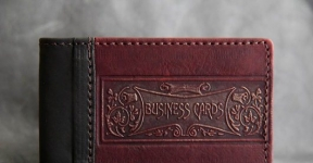 купить Кожаная Визитница Bussines Card цена, отзывы
