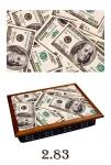 купить Поднос с подушкой  Парусник цена, отзывы
