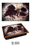 купить Поднос с подушкой Любимый кофе цена, отзывы