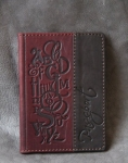 купить Кожаная Обложка на паспорт Английский Алфавит цена, отзывы
