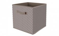 купить Короб квадратный складной Горошек 30х30х30 цена, отзывы