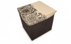 купить Короб складной многофункциональный с емкостью для хранения Цветы цена, отзывы