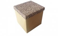купить Короб складной многофункциональный с емкостью для хранения Кофейная Клеточка цена, отзывы