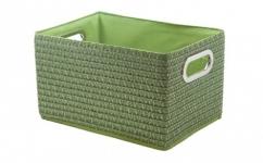 купить Короб Вязанка без крышки складной L Зеленый  цена, отзывы