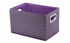 купить Короб Вязанка без крышки складной L Фиолетовый цена, отзывы