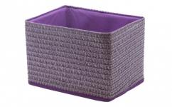 купить Короб Вязанка без крышки складной S Фиолетовый цена, отзывы