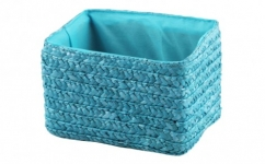 купить Короб Вязанка без крышки складной S Голубой цена, отзывы