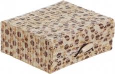 купить Шкатулка бамбуковая Цветы 18х14,5 см цена, отзывы