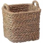 купить Корзина плетеная с ручками 26х26х32 см цена, отзывы