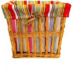 купить Корзина плетеная для белья Яркая Линия 30х23 см цена, отзывы