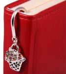 купить Закладка для книг Корзинка с Цветами цена, отзывы
